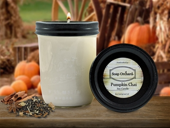 Pumpkin Chai 16oz Jar Soy Candle