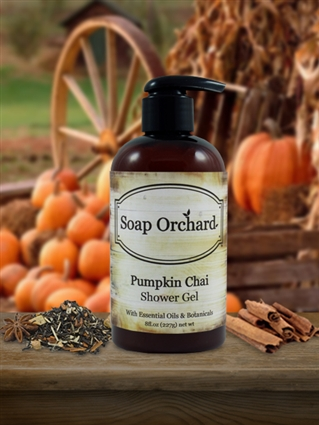 Pumpkin Chai Shower Gel - Retiring
