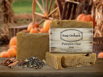 Pumpkin Chai Soap - Retiring Soap
