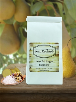 Pear & Ginger Bath Soak Retiring