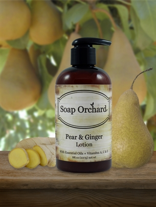 Pear & Ginger Lotion - Retiring