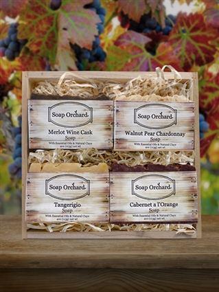 Soap Flight Gift Crate