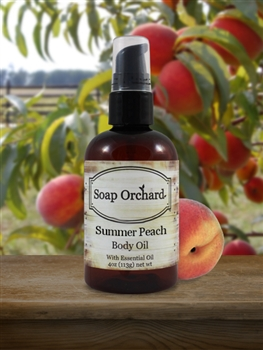 Summer Peach Body Oil