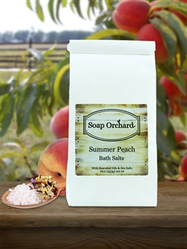 Summer Peach Bath Salts