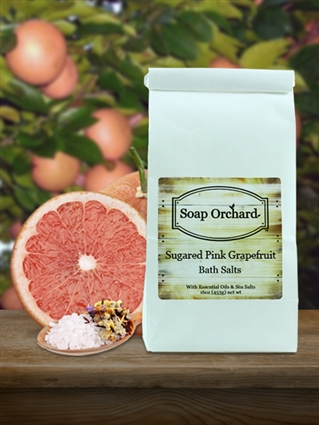Sugared Pink Grapefruit Bath Soak
