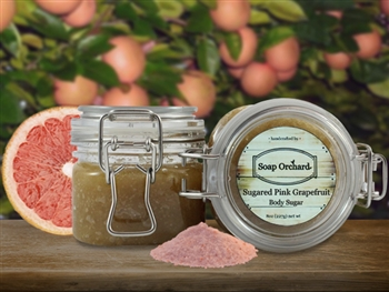 Sugared Pink Grapefruit Body Sugar