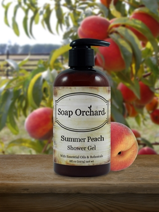 Summer Peach Shower Gel