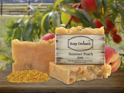Summer Peach Soap