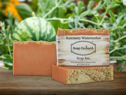 Summery Watermelon Bar Soap