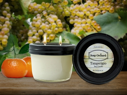 Tangerigio Double Wick Soy Candle