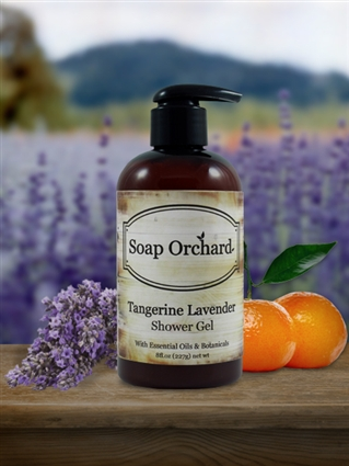 Tangerine Lavender Shower Gel