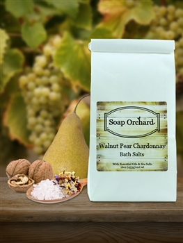Walnut Pear Chardonnay Bath Soak