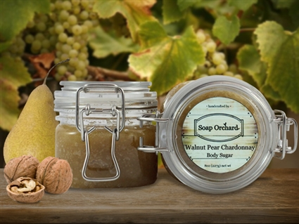 Walnut Pear Chardonnay Body Sugar