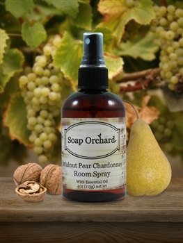Walnut Pear Chardonnay Room Spray