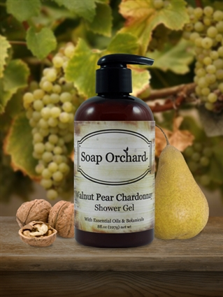 Walnut Pear Chardonnay Shower Gel