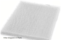 Replacement Dynamic Electrostatic Carbon Filters - 3 Pack