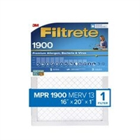 20x25x1 3M Filtrete Ultimate Allergen Reduction Filter