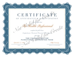CEU Certificate of Attendance & Participation