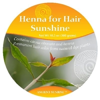 Sample Ancient Sunrise Henna For Hair Sunshine Kit