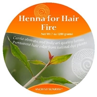 Sample Ancient Sunrise Henna for Hair Fire Kit