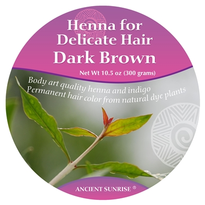 Henna for Delicate Hair Dark Brunette Kit