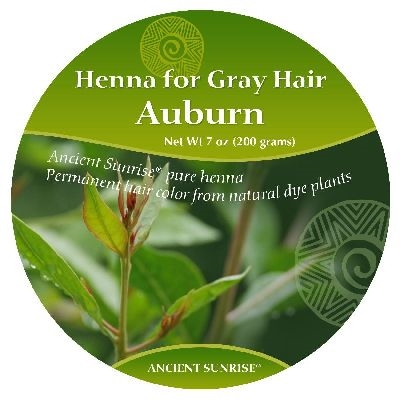 Sample Kit henna for gray hair Auburn kit
