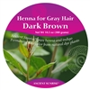Ancient Sunrise Henna for Gray Hair Dark Brunette  Kit (Sample)