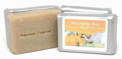 Chamomile, Cassia,  Mandarin orange Shampoo Bar
