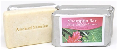 Ancient Sunrise Ginger and Cardamon Shampoo Bar (4 oz.)