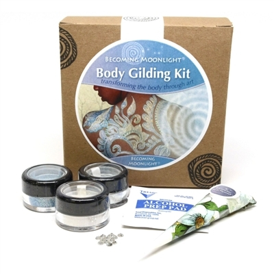 Becoming Moonlight© Diamond Body Gilding Kit