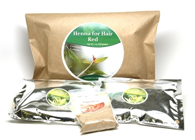 Henna for hair Red Kit