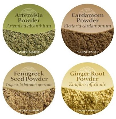 Ancient Sunrise<br>Spices & Herbs<br>for your henna mix