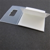 Clear Sawtooth Adhesive Hanger- packet of 10