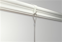 Shades Moulding Hook + Steel Cable with Loop + Zipper Hook