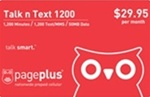 Page Plus Unlimited Minutes, Unlimited Texts, 2GB 4G LTE Data Monthly Plan Refill