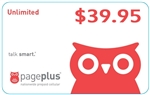 Page Plus Unlimited $39.95 Recurring Monthly Auto-Pay