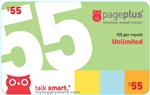 Page Plus Unlimited Talk/Text/Data, Fully Unlimited 4G LTE, Instant Monthly Plan Refill