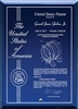 "Contemporary Desktop Blue Glass Engraved Patent Plaque - 5"" x 7"" Laser Engraved / Blue Glass Plaque"