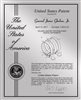 "Patent Plaques Custom Wall Hanging Contemporary Metal Patent Presentation Plate - 10"" x 13"" Silver."