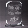 Patent Plaques Custom Desktop Traditional Diamond Patent Award.