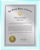 "Patent Plaques Custom Wall Hanging Ultramodern Traditional Trademark Plaque - 10.5"" x 13"" Silver and Clear Acrylic."