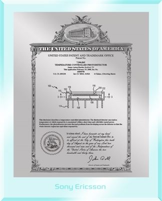 "Patent Plaques Custom Wall Hanging Ultramodern Vintage Patent Plaque - 8"" x 10"" Silver and Clear Acrylic."