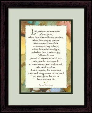 saint francis prayer