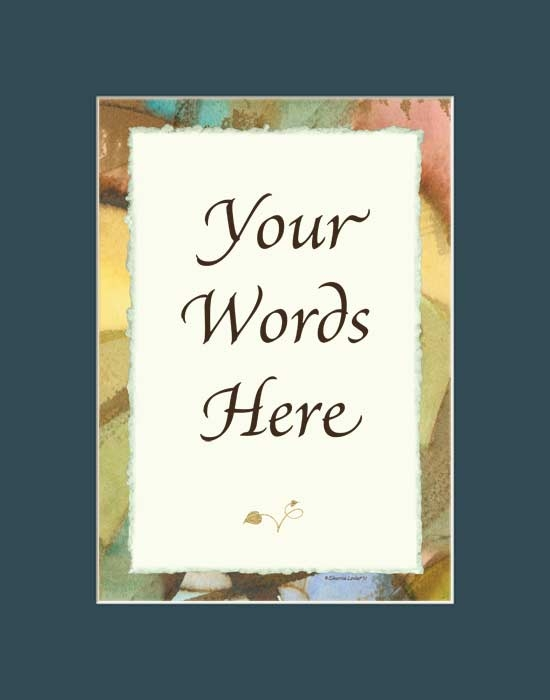 Personalized Word Art Gifts & Decor: Custom Quote Art Prints