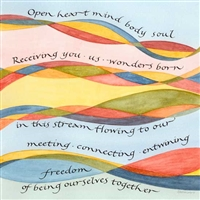 art and poetry lovecard