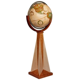 Obelisk Globe By Replogle