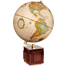 Four Square I Globe By Replogle