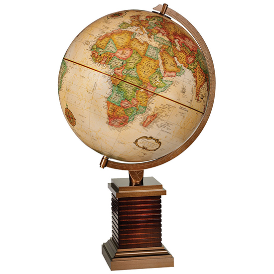 Glencoe Globe By Replogle