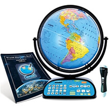 Intelliglobe II Deluxe Interactive Globe By Replogle