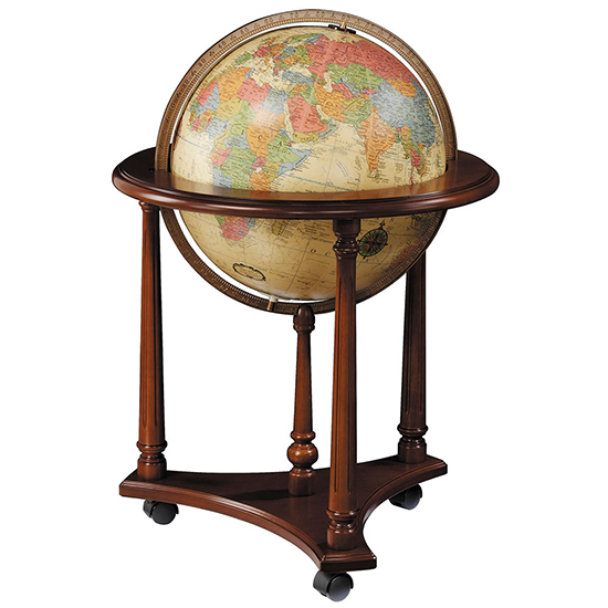 Lafayette Globe Antique Oceans By Replogle